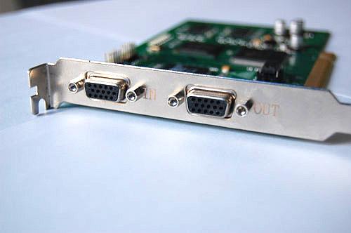 带输入输出VGA采集卡